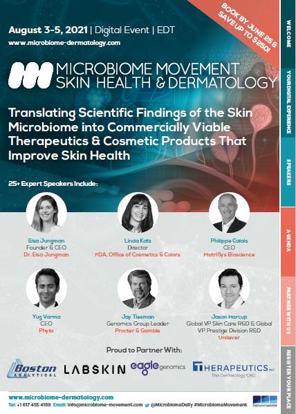 Microbiome Movement - Skin health brochure