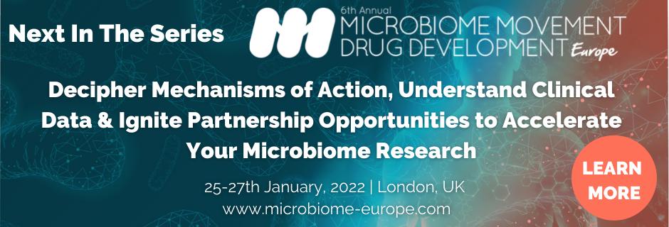 6th Microbiome Movement - Drug Development Summit Europe